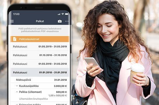 eFina Mobiili Markkinoiden älykkäin taloushallintosovellus